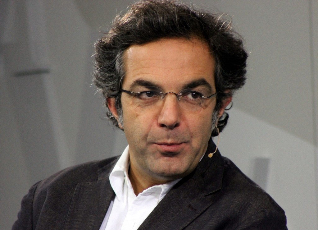 Navid Kermani auf der Frankfurter Buchmesse 2012 | (cc) by Lesekreis