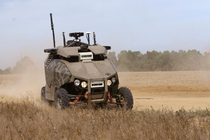 G-NIUS Unmanned Ground Systems.